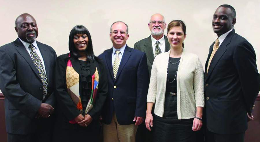 The current Ypsilanti School Board